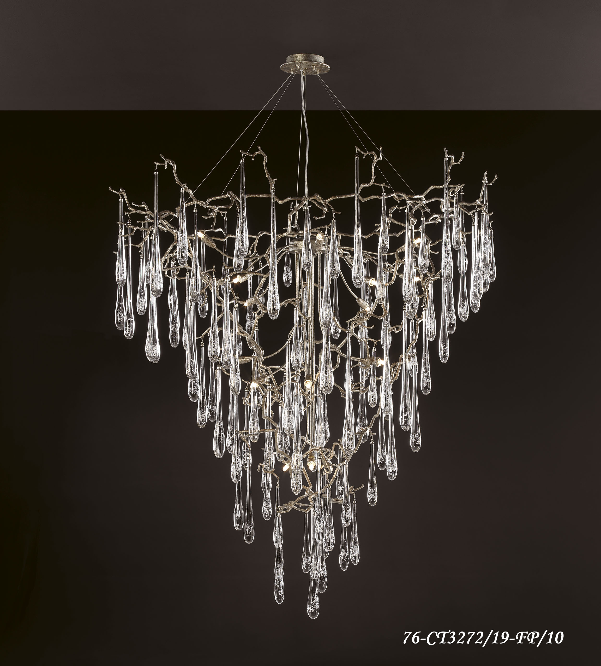 SERIP AQUA 19 LIGHT CHANDELIER