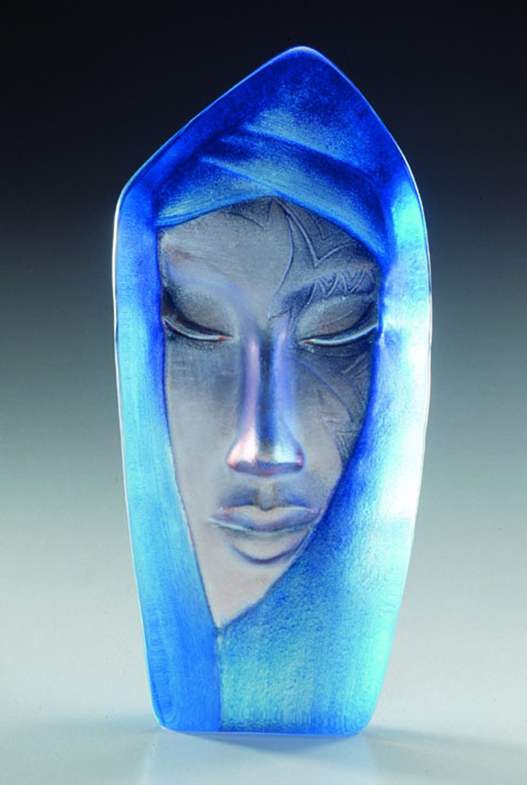 Mats Jonasson Batzeba Sculpture Blue